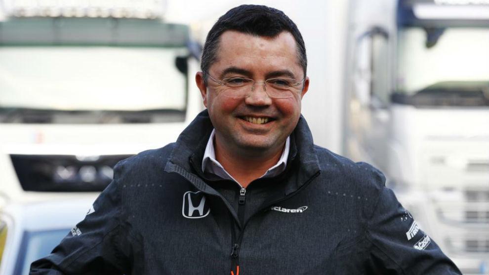 Eric Boullier, director técnico de McLaren