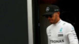 Lewis Hamilton, en los pasados test de pretemporada