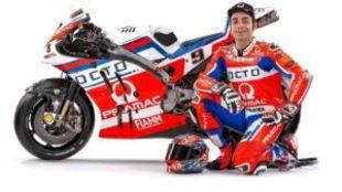 Petrucci, con la GP17.