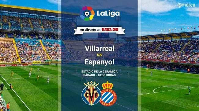 Villarreal vs Espanyol en directo