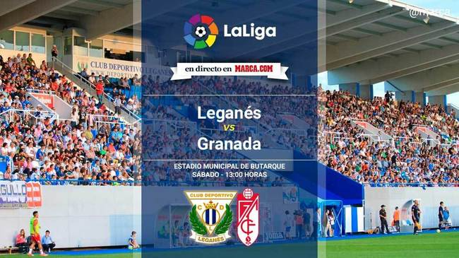 Leganés vs Granada en directo