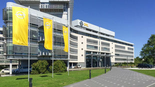 Sede de Opel en Russelsheim (Alemania)
