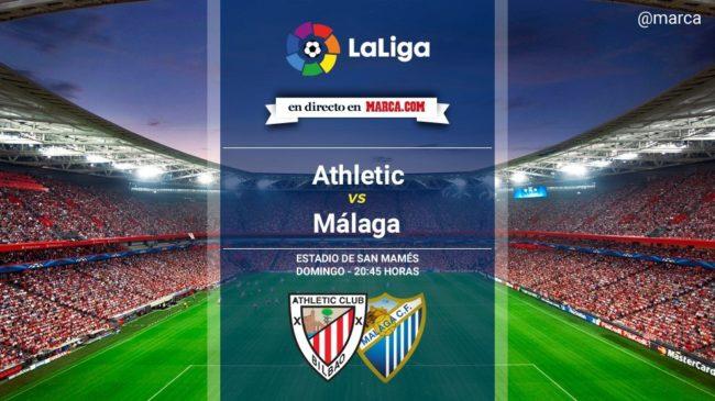 Athletic vs Málaga en directo