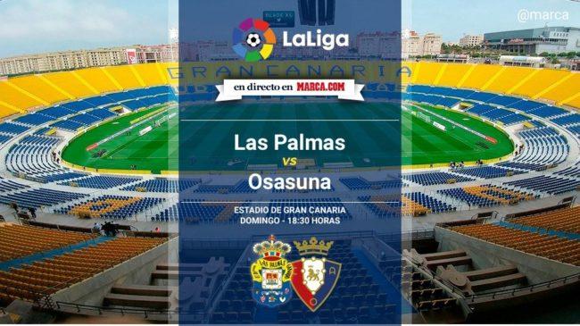 Las Palmas vs Osasuna en directo