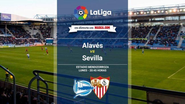 Alavés vs Sevilla en directo