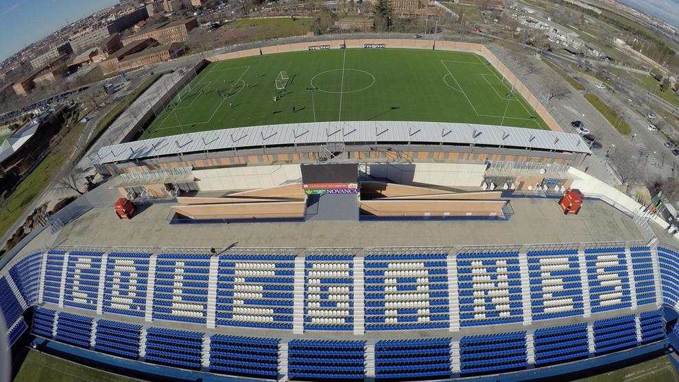 Legan 233 S El Nuevo Estadio Anexo De Butarque Jes 250 S Polo