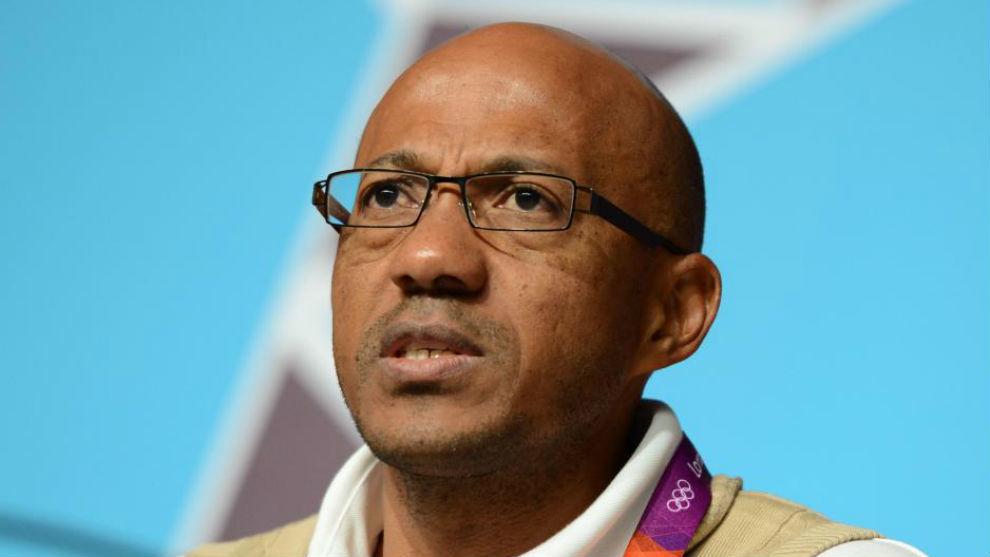 Franck Freericks, durante una conferencia de prensa.
