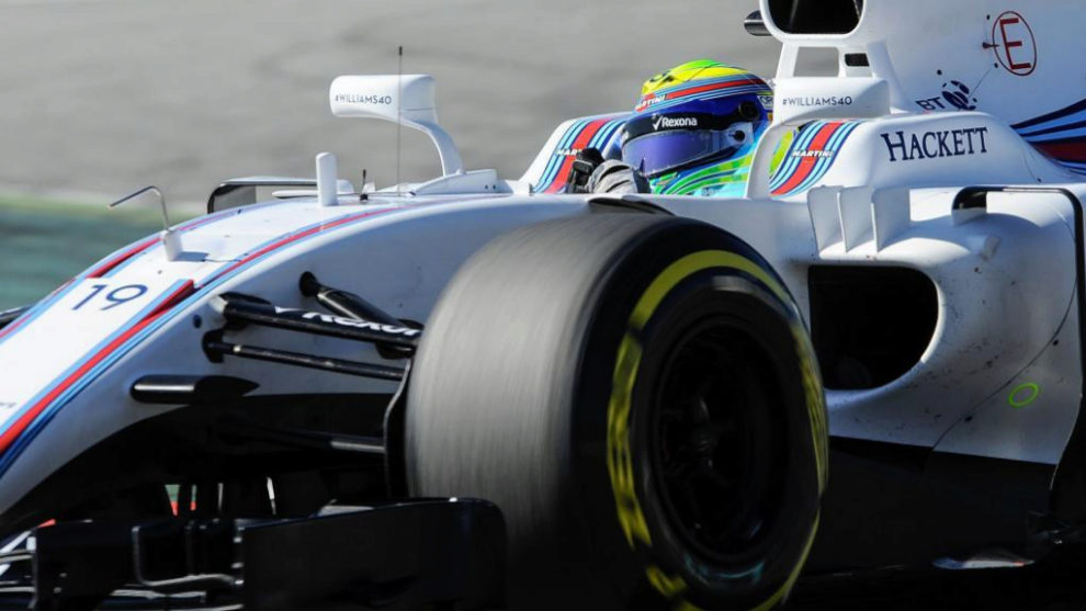 McLaren completa 80 vueltas y Massa hace el mejor tiempo