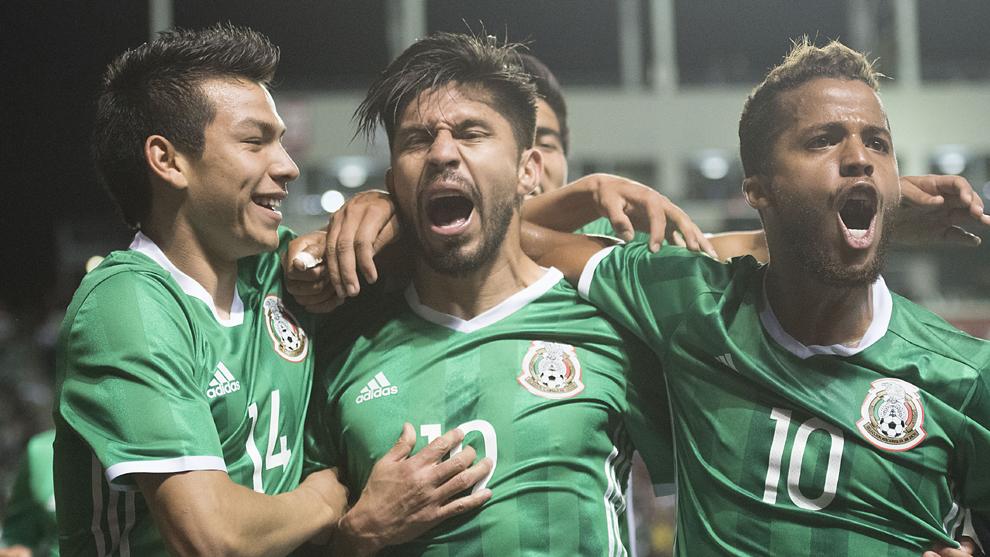 Festejo selección mexicana
