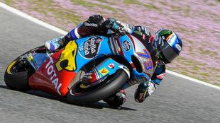 Álex Márquez pilota su Kalex en Jerez.