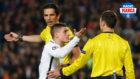 Verrati reclama una acci�n durante el Barcelona-PSG