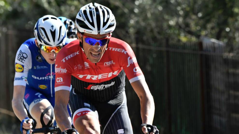 Contador, por delante de Daniel Martin