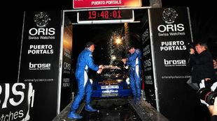 Stefan Oberdoerster, ganador del Oris Rally Clásico.