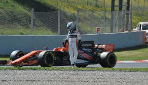 El p�blico aplaudi� a Alonso y silb� a McLaren.