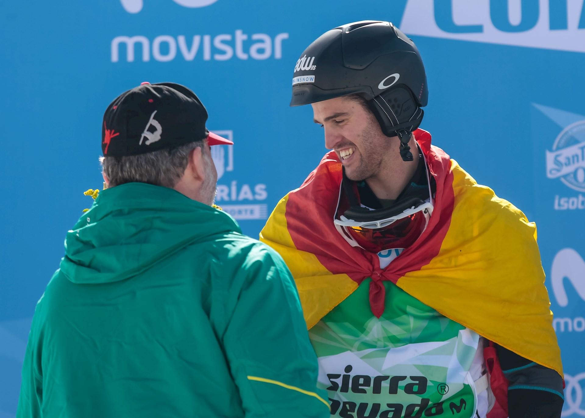 El Rey Felipe con Lucas Eguibar.