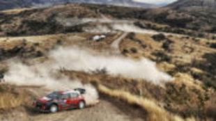 Kris Meeke, ganador del Rally de M�xico