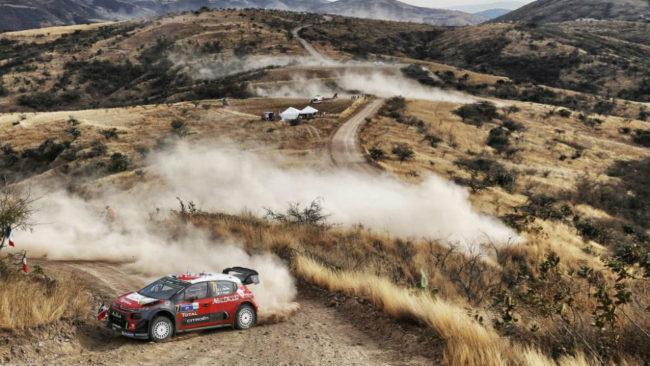 Kris Meeke, ganador del Rally de México