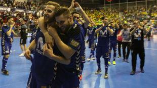 Movistar Inter celebra en el Quijote Arena