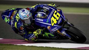 Rossi, en Losail.
