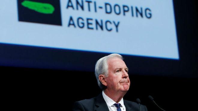 Craig Reedie, presidente de la AMA.