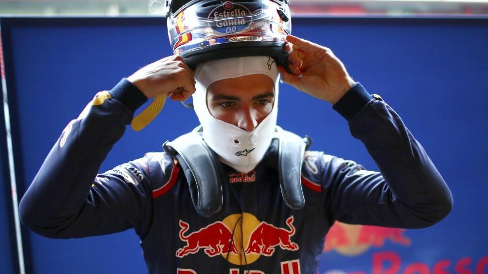 Carlos Sainz Jr, piloto de Toro Rosso