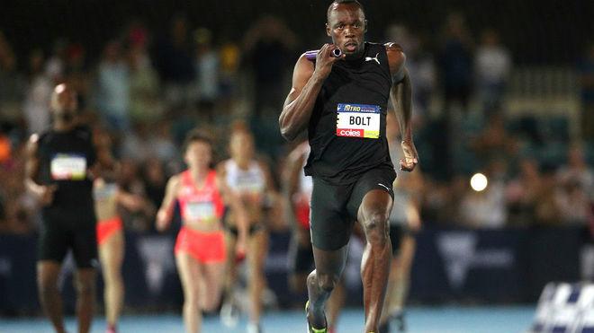 Usain Bolt, en competición en una imagen de archivo