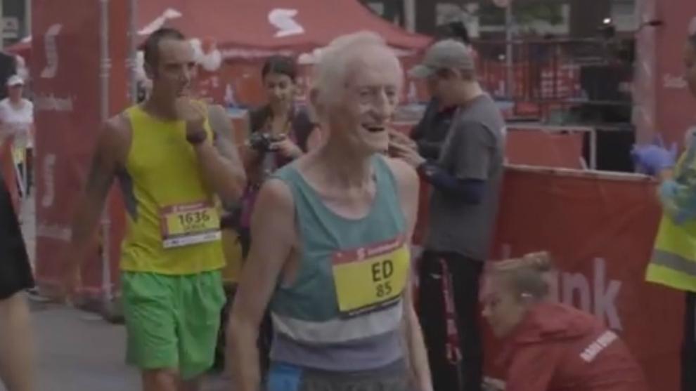 Whitlock acaba el pasado maratón de Toronto