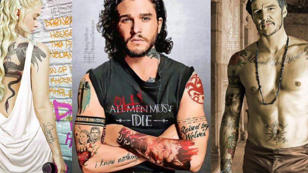 Asi Serian Los Personajes De Juego De Tronos Con Tatuajes La