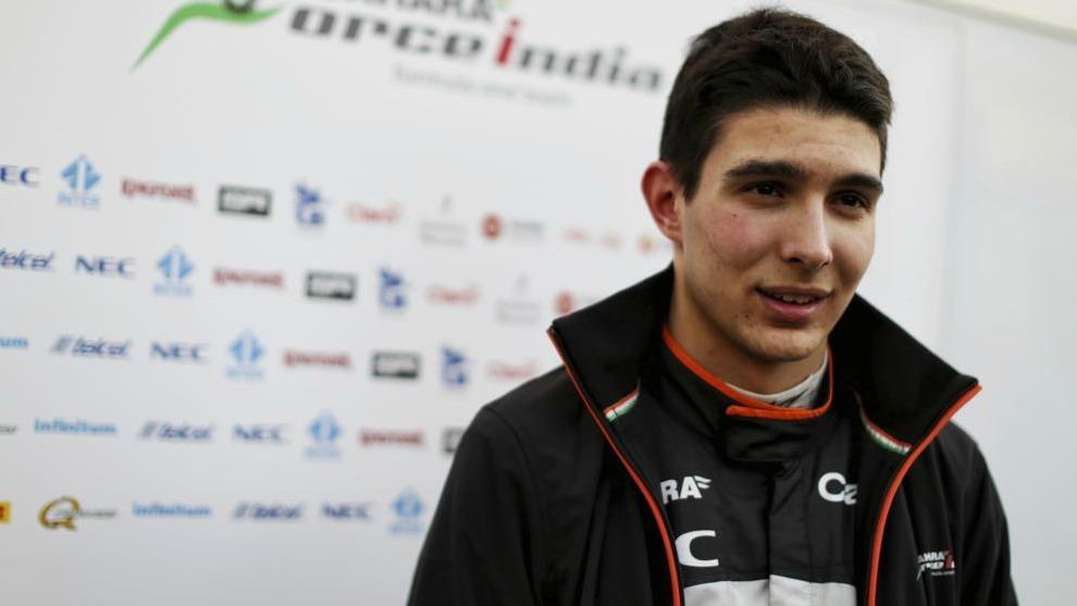 Esteban Ocon, piloto de Force India