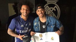 Marcelo con Jonathan Alonso.