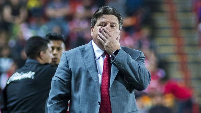 Miguel Herrera, técnico de Xolos de Tijuana
