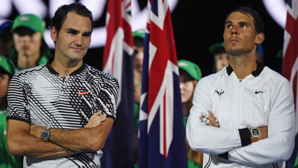 Federer y Nadal, en Australia