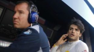 Carlos Sainz, piloto de Toro Rosso
