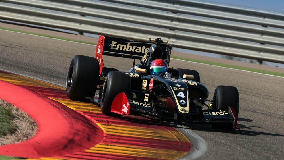 Pietro Fittipaldi, piloto de Lotus
