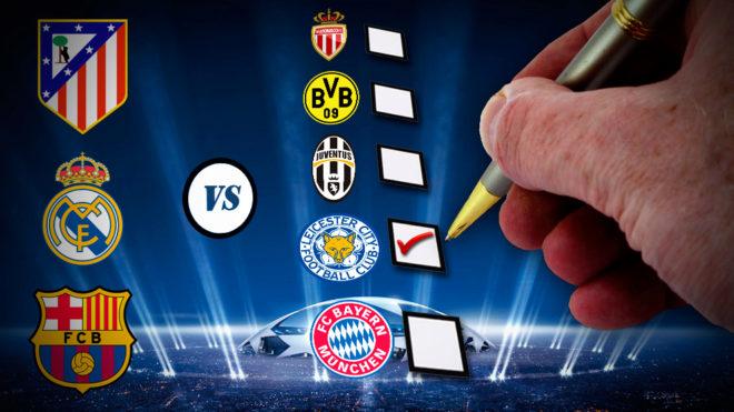 Champions League: ¿Qué rival quieres para los españoles en el sorteo ...