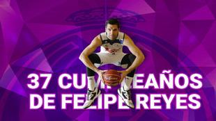 Repaso a la carrera de Felipe Reyes: los 37 años mejor llevados del...