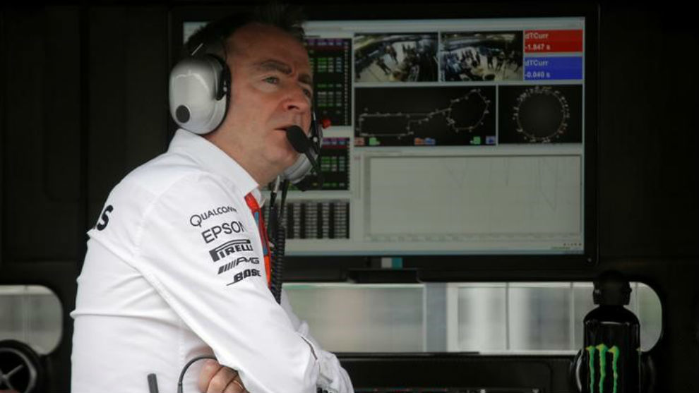 Paddy Lowe, en su anterior etapa en Williams