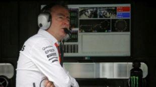 Paddy Lowe, en su anterior etapa en Williams