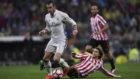 Bale, en un Madrid-Athletic.