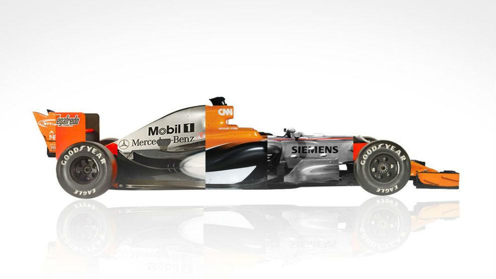 Así es el montaje realizado por McLaren en su cuenta oficial de...