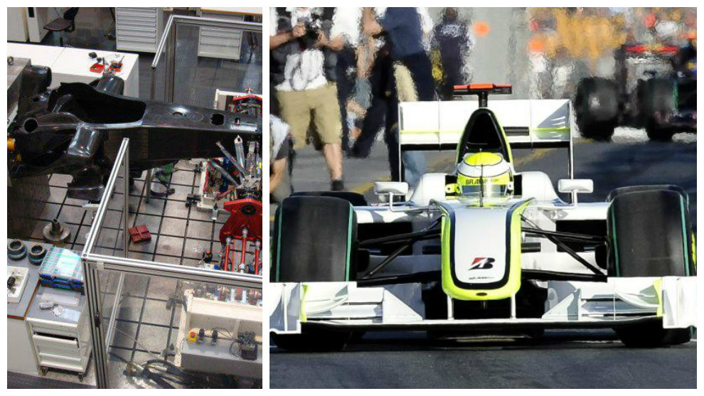 EL 'FRANKENSTEIN' CAMPEÓN Al chasis lograron acoplarle el motor...
