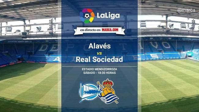 Alavés vs Real Sociedad en directo