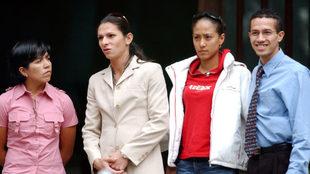 Ana Gabriela Guevara e Iridia Salazar lograron posicionarse en la...