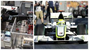 EL 'FRANKENSTEIN' CAMPE�N Al chasis lograron acoplarle el motor...