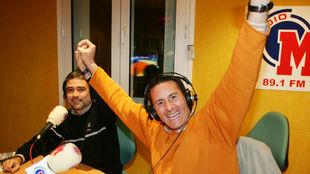 Jaume Fort, durante una intervención en Radio MARCA
