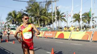 Miguel Ángel López, en los Juegos de Río