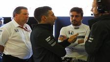 Zak Brown, Director Ejecutivo McLaren, Andrea Stella, Director de...