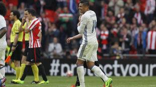 Casemiro marcó el gol de la victoria del Real Madrid al aprovechar...