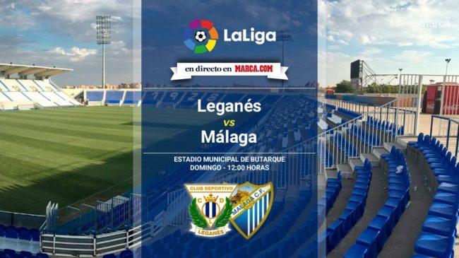 Leganés vs Málaga en directo