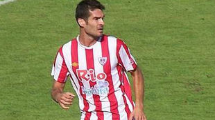 Gerardo Berodia en su etapa en el Lugo